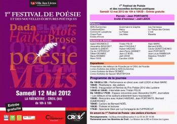 festival, poésie, Creil